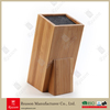 Bamboo Universal Kitchen Knife Block