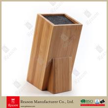 Bamboo Universal Kitchen Knife Block