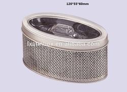 Round tin watch case, tin watch box,watch tin box