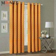 2014 Latest linen curtain fabric curtain with good design
