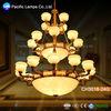 Customized Copper Chandelier Lamp, Brass lamps