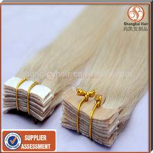 6A, 7A, 8A 100% human hair popular cheap wholesale 2.5/5.0/3g Russian hair tape hair extensions