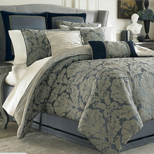 home use cal king size luxury jacquard bedding comforter sets