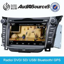 Audiosources 7'' car dvd for HYUNDAI I30 dvd player S600-8802