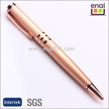 custom rose gold ball pen hot selling