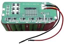 7S5P 24V Li-ion battery pack, 18650 battery pack