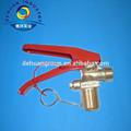 válvula de polvo seco y co2 extintores