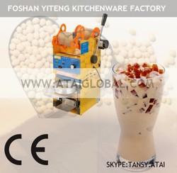 Bubble tea semi-automatic cup sealing machine cup sealer - For Bubble/Boba Tea