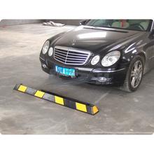 China One Black & Yellow 1.65 Meter Garage Rubber Parking Block