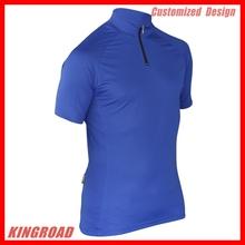 China 2014 personalizado de alta qualidade camisa de ciclismo com baixo moq, o projeto personalizado