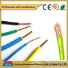 BV HO6V-U H07V-U H07V-R Colored PVC insulated copper conductor wire