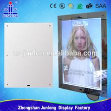 2014 New Advertising Panel Magic Mirror Funny LED Light Frame
