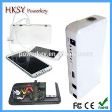 Huge Capacity Multi-functional Emergency jump-starter pack small size Auto Mobile Power slim emergency tool kit