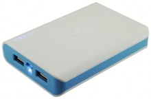 Full capacity 5600mah portable move power bank for mobile phone and laptop Double Usb Output Portable Power Bank