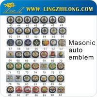 wholesale masonic lapel pin badge; wholesale masonic items masonic auto emblem