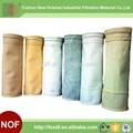 Haute qualité industrielle sac collecteur de poussière de cyclone/seul sac collecteur de poussière