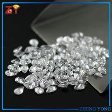 Crystal Clear Cubic Zirconia Pear Cut White Zirconia Stone