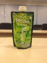 spout breast milk storage bag
