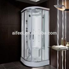 New design indoor bathroom freestanding luxury glass door portable steam shower room