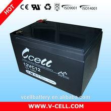 High capacity 12v 12ah sealed lead acid battery for ups