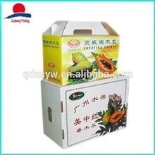 Colorful Printed Paper Fruit Packaging Box