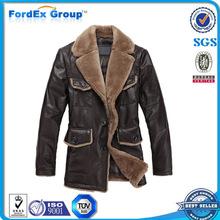 latest design genuine wholesale cheap man leather jacket