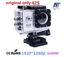 Original100% novatek chip 96650 SJ4000 Action Camera Diving 30M Waterproof Camera 1080P Ful HD Helmet Camera Underwater Sport