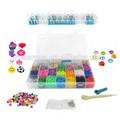 Verkaufsschlager euorpean Kinder regenbogen spielzeug/Webstuhl gummiband rlbs003
