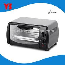UL ETL Approval 9L 800W mini electric oven for baking