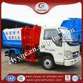Forland 3m3 camion à ordures, petit camion à ordures, recyclage des ordures camion de nettoyage peut
