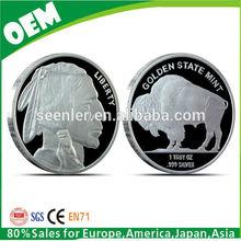 1oz silver buffalo round coin