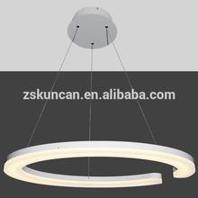 สูง- ไฟledโคมไฟระย้าโคมไฟวงกลม
