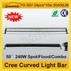 "Top quality cree 50"" 20400LM 240W auto car led light bar"