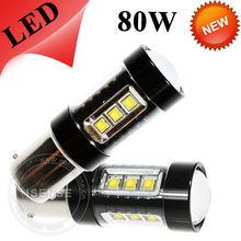 LED 80W High Power Fog Light Auto Reverse Light 1156 1157 7440 7443