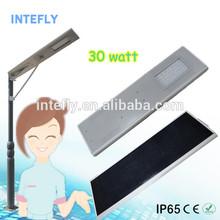 IP 65 30w solar power street light, solar street light price