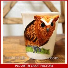 3D animal kids cup,animal tea cups,animal straw cups
