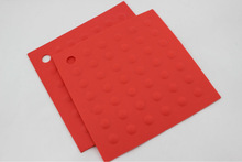2015 China factory new design kitchenware skid proof silicone pan mat