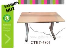 office furniture desk legs athens greece furniture 2-Leg Column stainless steel table height adjustable desk