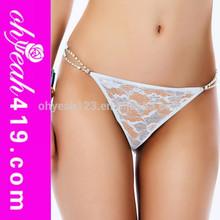 2015 New arrivals hot sexy diamond design ladies g string