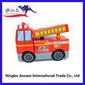 2014 miúdos encantadores de ensino do brinquedo de madeira brinquedoseducativos carros de bombeiros, wt124 de madeira fire engine