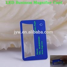 3X LED de negocios de tarjeta de tarjeta de crédito del LED lupa por Steven