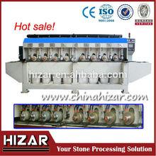 stone slab edge profiling machine, marble and granite slab edge cutting and polishing machine