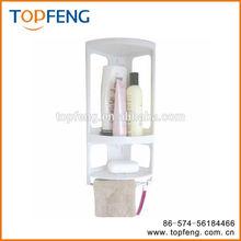 Corner Mounted Shower Caddy, Plastic Bathroom Shelf, Bathroom Rack
