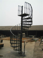Professinal wought outdoor cast iron stair