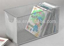 Hot Sale Home Organization/ Office Desk Organizer Metal Mesh Iron CD Box/Storage Box