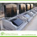 Pierres tombales et monuments grave décorations shanxi granit noir