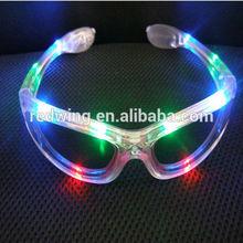Light Up Flashing LED Rave Shutter Glasses For Promotion