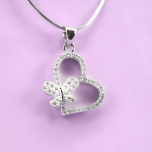 2015 New Product Alibaba Express Charming Silver Jewelry Pendant