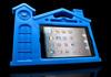 Cute small house pattern EVA Case for iPad Mini