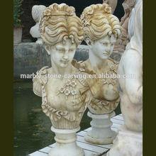 Marbre Antique buste marbre buste Sculpture MS140